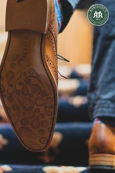 Sophistication from the sole up. Shop Barker McClean in antique rosewood calf/paisley laser. #barkershoes #barkermcclean #robinsonsshoes Shoe Horn, Shoe Tree, Goodyear Welt, Types Of Shoes, Brogues, Beautiful Shoes, New Shoes, Leather Shoes, Calves