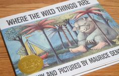"""Where the Wild Things Are by Maurice Sendak. """"LET THE WILD RHUMPUS BEGIN!"""""""