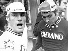 Rudi Altig and Eddy Merckx