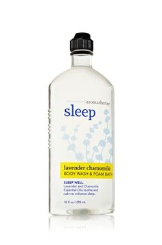 Sleep - Lavender Chamomile by Bath & Body Works. I LOVE this sent! Relaxing and the wash itself it soothing.