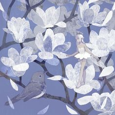 Thumbelina in Blue