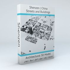 Shenzen Streets and Buildings | 3D model
