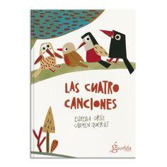 poesía Las cuatro canciones. Estrella Ortiz y Carmen Queralt | Biblioabrazo