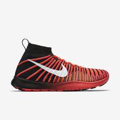 Nike Free TR Train Force Flyknit Mens Training Shoes 9 Black Crimson 833275 001 #Nike #RunningCrossTraining