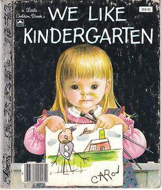 We Like Kindergarten Little Golden Book 205-23 Eloise Wilkin Clara Cassidy | eBay