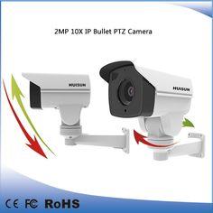 2016 new design 10x pan/tilt PTZ bullet camera P2P 1080p outdoor IP camera