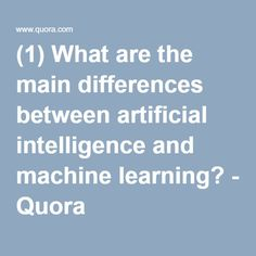 how to learn machine learning quora