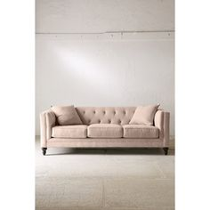 Graham Microfiber Sofa (1,735 CAD) ❤ liked on Polyvore featuring home, furniture, sofas, light brown, tufted couch, tufted sofa, micro fiber sofa, microfiber couch и microfiber sofa
