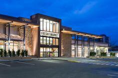 KRS - King Retail Solutions : Portfolio : Whole Foods Retail Architecture, Commercial Architecture, Architecture Design, Mall Design, Retail Store Design, Retail Stores, Facade Design, Exterior Design, Supermarket