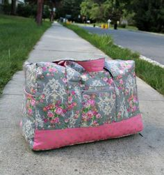 Vera Bradley Inspired Carry-On Duffel Bag   Love Vera Bradley? Get the designer look for less with this sewing project!