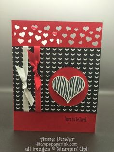 Stamps, Paper, Ink Create!: Card One of Valentine on Time Stamp Camp 2015