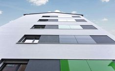 Airtec Glass Rainscreen cladding is a robust composite panel with heat-soaked thermally toughened safety glass. Tough, Durable and Distinctive Rainscreen Cladding, Glass Facades, Safety Glass, Skyscraper, Multi Story Building, Skyscrapers