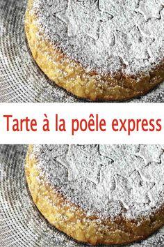 Tarte à la poêle express, ce gâteau étonnant se cuit comme une omelette et offre un bon petit dessert comme on les aime.