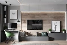 Home studio audio living rooms 50 new ideas - Laly Octavarium - Living Room Tv, Living Room Tv Unit Designs, Bedroom Interior, Home Office Design, Living Room Design Modern, Home And Living, Home Living Room, Tv Room Design, House Interior
