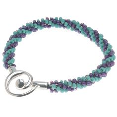 Tutorial - How to: Spiraling Beaded Kumihimo Bracelet | Beadaholique