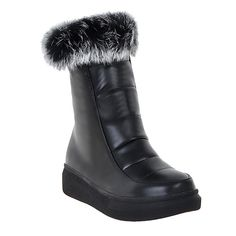Show Shine Women's Warm Hidden Heel Platform Ankle High Snow Boots ** Learn more by visiting the image link.