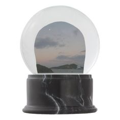 Sunrise in St. Thomas III US Virgin Islands Snow Globe - photography gifts diy custom unique special