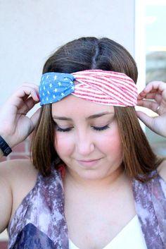 Stars & Stripes - Headband
