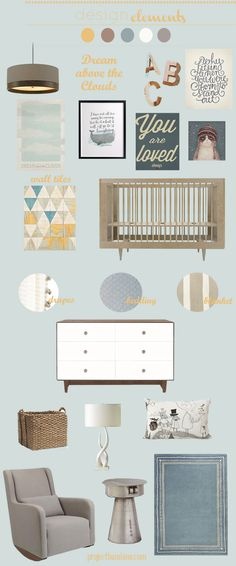 Project Bambino » Dream Above the Clouds Nursery Inspiration