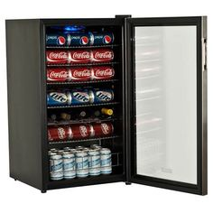 EdgeStar 103 Can Ultra Low Temperature Beverage Cooler. This is a great way to free up space in your refrigerator but still keep your soda and beer cold!