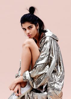 "celebritiesofcolor: "" Bhumika Arora for Teen Vogue """