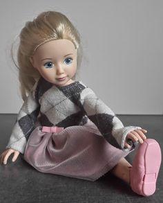 szycienocne: Jolina Ballerina w rombiastej sukience
