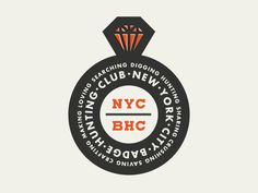 Nyc Badge Hunting Club by Allan Peters