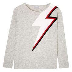 Bowie Sweater Light Grey   Orwell + Austen Cashmere   Wolf & Badger  /  Women / Clothing / Knitwear
