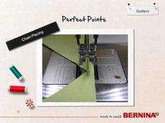 BERNINA Quilting  - Tool Tip - The Perfect Seam Allowance