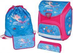Ein Meerjungfrauen-Schulranzen für kleine Fans der süssen zauberwesen! #Mermaid #Meerjungfrau