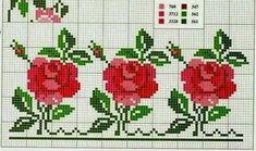 Cross Stitch Charts, Cross Stitch Patterns, Cross Stitching, Cross Stitch Embroidery, Pixel Crochet, Cross Stitch Flowers, Christmas Cross, Crochet Flowers, Needlepoint