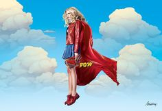 super heroes on Behance