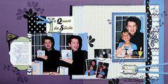 A La Pause: Scrapbooking - Le Quart de Siècle - Versatilité des Papiers Nursery Nest Awash with Flowers Marie-Josée Trudel Stampin Up
