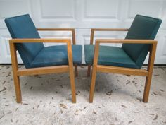 Matched Pair MCM Harvey Probber Arm CHAIRS with LABELS Eames Walt Disney World Original Owner by TombstoneTreasures on Etsy https://www.etsy.com/listing/469313216/matched-pair-mcm-harvey-probber-arm