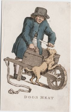 Dogs meat [graphic]. Creator: Busby, T. L. (Thomas Lord), printmaker. Published/Created: [London] : [Samuel Leigh], [ca. 1800]