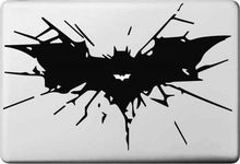Vati Leaves Removable Creative Cartoon Batman Logo Decal Sticker Skin Art Black for Apple Macbook Pro Air Mac 13 15 inch / Unibody 13 Laptop Macbook Stickers, Macbook Decal, Macbook Air Pro, Laptop Decal, Macbook Laptop, Mac Decals, Vinyl Decals, Air Mac, Stickers