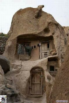 The House dates back seven hundred years.Iran kandovan
