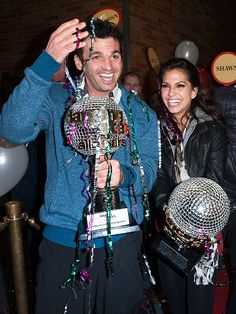 HAVING A BALL photo | Melissa Rycroft, Tony Dovolani
