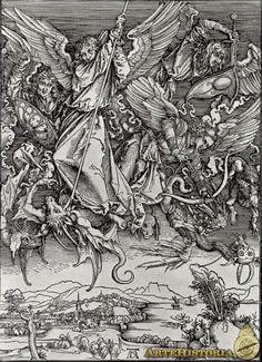 Apocalipsis, San Miguel y el dragón - Obra - ARTEHISTORIA V2