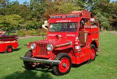 Afbeeldingsresultaat voor willy's jeep, brandweer