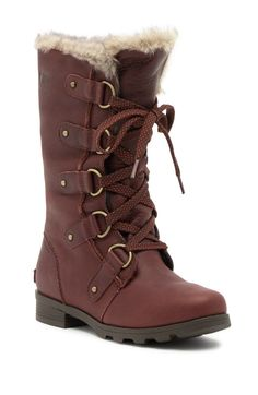 These boots & booties are made for more than just walking. Find stylish women's boots at up to off top brands at Nordstrom Rack. Sorel Winter Boots, Faux Fur Collar, Fall Shoes, Combat Boots, Lace, Leather, Shopping, Clothing, Accessories