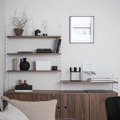 Bookcase envy via @bjurfors_stockholm . Love these tones x