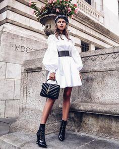 """14.1 хиљ. свиђања, 250 коментара - ANNABELLE FLEUR (@vivaluxuryblog) у апликацији Instagram: """" @alexandermcqueen dress & @ysl boots via @netaporter / #ootd details up on #vivaluxury…"""""""