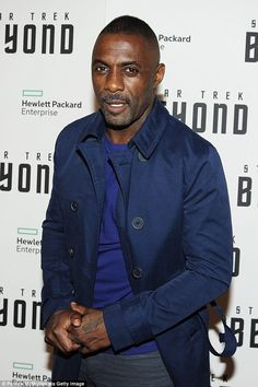 Wanting a change: Idris Elba hinted the role of James Bond isn't for him as he revealed he wants to begin appearing in comedy films