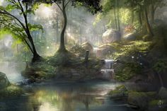 Healing Springs by jjpeabody.deviantart.com on @deviantART