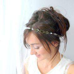 Braut haarband frisur  Blumenkranz Hochzeit Haarband Blumen Haarschmuck | Flower Crowns ...