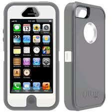 Grey/White for OtterBox Defender Series Case for iPhone 5 with Holster- $25