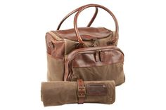 A carry-all for any guy's guy @GloMSN http://www.gentsupplyco.com/Meehan-Utility-Bag