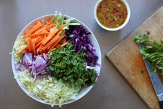 Healthy Asian Slaw - The Holistic Ingredient