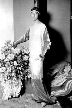 Denise Poiret, wife and muse of Paul Poiret